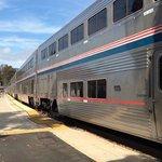22-car train at San Luis Obispo