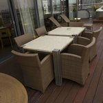 Private terrace - dining ares