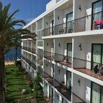 Ses Savinas side of Hotel