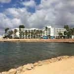 Hotel Ses Estaques from the Ses Savinas Restaurant