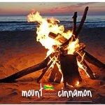 Bonfire Night at the Beach Cabana