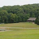 "View of ""Barn"" reception venue"