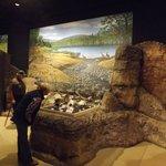 Diorama in Visitors Center