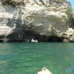 Ponta de Piedade in kayaks