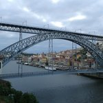 Gustave Eiffel's Dona Maria Bridge over the river Douro