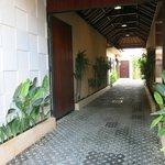 Entrance to Villas