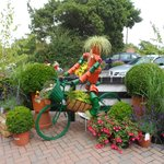 Perrywood Garden Centre's 'Potty Cyclist'
