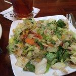 Nice Dinner Salad with Vinegarette