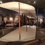 Avião desenhado e montado pelo irmãos Wright.