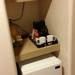 Micro, Fridge, Coffee in Room
