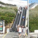 Old Town Outside escalators