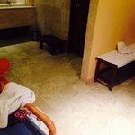 Desorden y descuido en el spa
