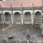 Vista del patio de la catedral desde las terrazas