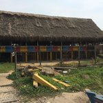 Great place to eat, and see the beach in Barranquilla