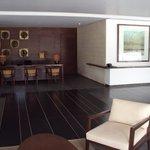 Recepção do hotel Alila