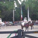 baile en caballo
