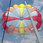 Parasailing available to book right on the beach