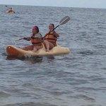 kayaks included!