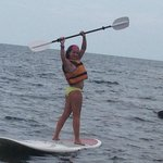 Stand up surf- boards- kids loved this - included!