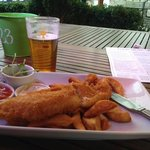 great fish 'n chips!