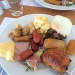Breakfast was good
