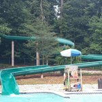 Slide at pool August 2014