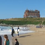 The Headland Hotel is perfect for a beach holiday with style.