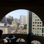 30th floor room view