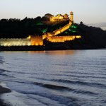 PengLai Ge at dusk