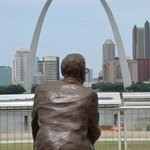 Malcolm and the arch