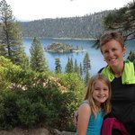 Hiking around Lake Tahoe
