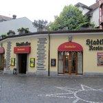 Stadtkeller Restaurant - from the plaza