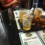 Beer sampler tray