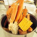 Seafood smorgasbord. Lol