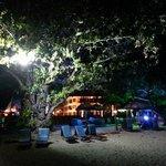 La plage le soir du resort !! Superbe