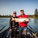 King Salmon on the Kasilof River