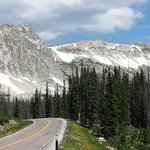 The Laramie Pass on the way to Medicine Bow
