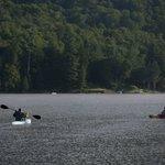 Summer Morning Canoes