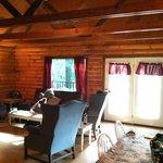 Living room / sleep area