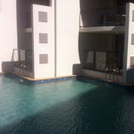 Direct pool access from ground floor units