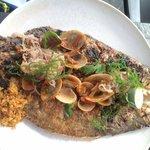Fish with sambal matah