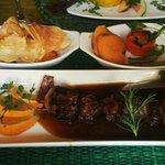 El plato Fuerte Carne de Bovino