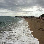 Пляж в Санта-Сусанне