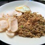 Nasi Goreng w/ shrimp
