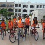 Bike tour with Nabuk