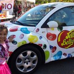 After her dance performance at jelly belly.