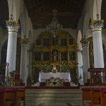 Interior de Catedral de San Cristobal de las Casas.