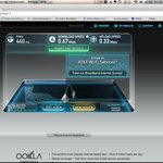 internet Speedtest in the room