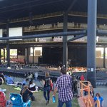 Not sure why everyone hates the venue.   Pretty standard amphitheater experience.