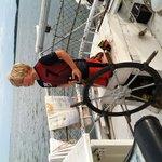 sailing the Skipjack